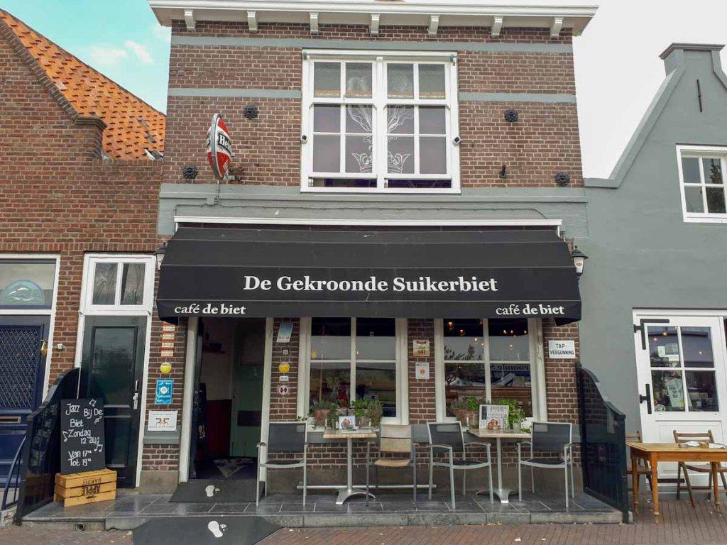 """Das urige Restaurant """"De Gekroonde Suikerbiet"""" in Zierikzee"""