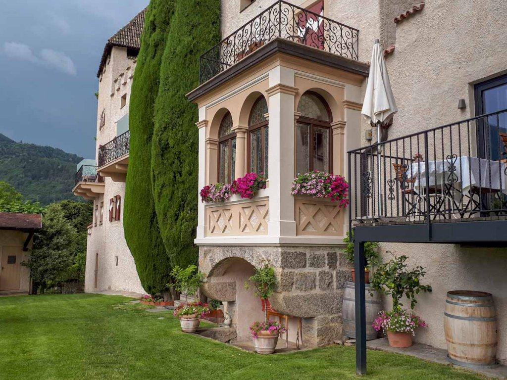 Übernachten in historischen Gemäuern im Vinum Hotel Südtirol Schloss Plars