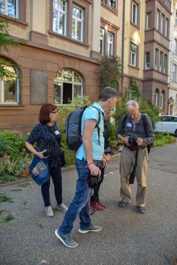 Unterwegs in Pforzheim beim FUJI Fotowalk