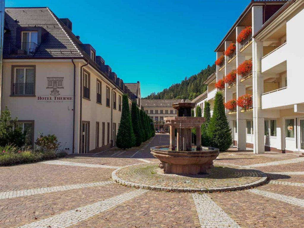 Das historische Hotel Therme Bad Teinach