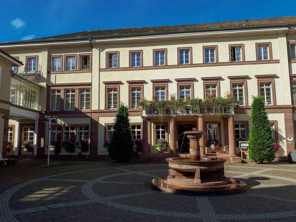 Das Hotel Therme Bad Teinach im Nordschwarzwald
