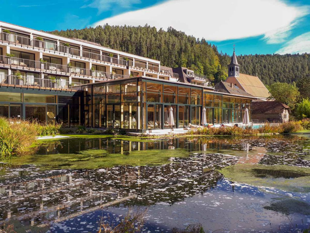 Wellness pur in der Therme Bad Teinach