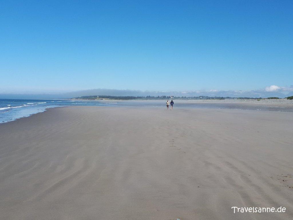 Mystische Stimmung am Port Maitland Beach im Süden Nova Scotias