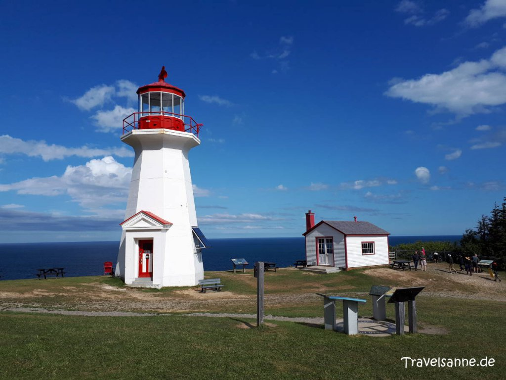 Der Leuchtturm am Cap Gaspé im Forillon Nationalpark