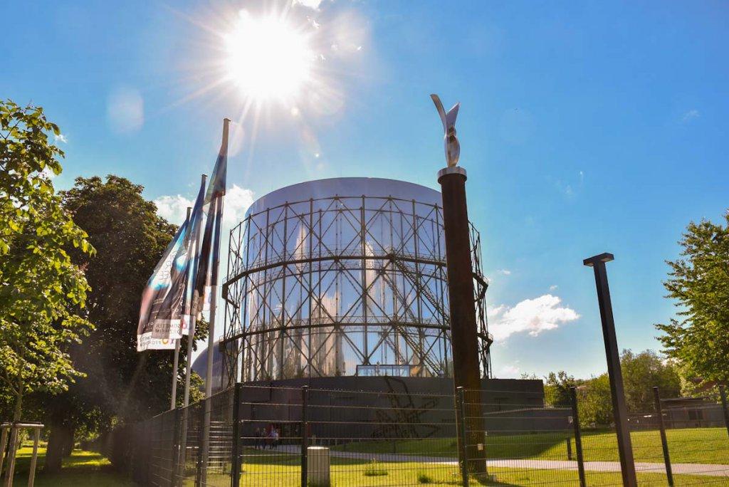 Eine der beliebtesten Pforzheim Aktivitäten: Ein Besuch im Industriedenkmal Gasometer Pforzheim