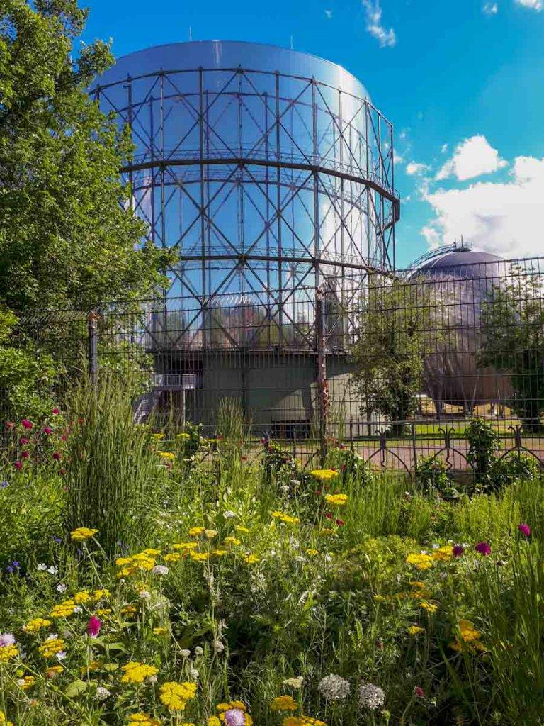Eine der beliebtesten Pforzheim Aktivitäten: Besuch des Industriedenkmals Gasometer Pforzheim