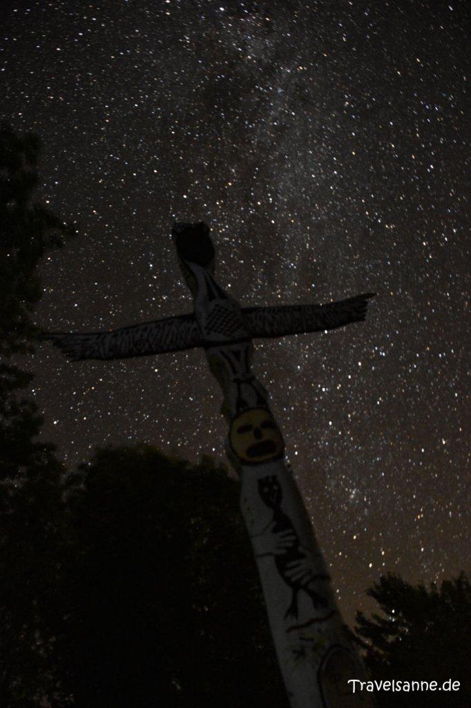 Sternenhimmel in der Dark Sky Preserve des Kejumkujik Nationalparks