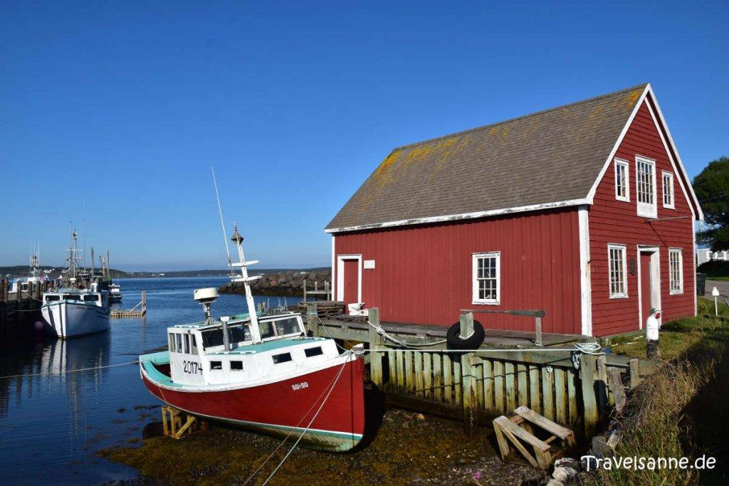 Farbenfrohes Brier Island am südlichsten Ende Nova Scotias