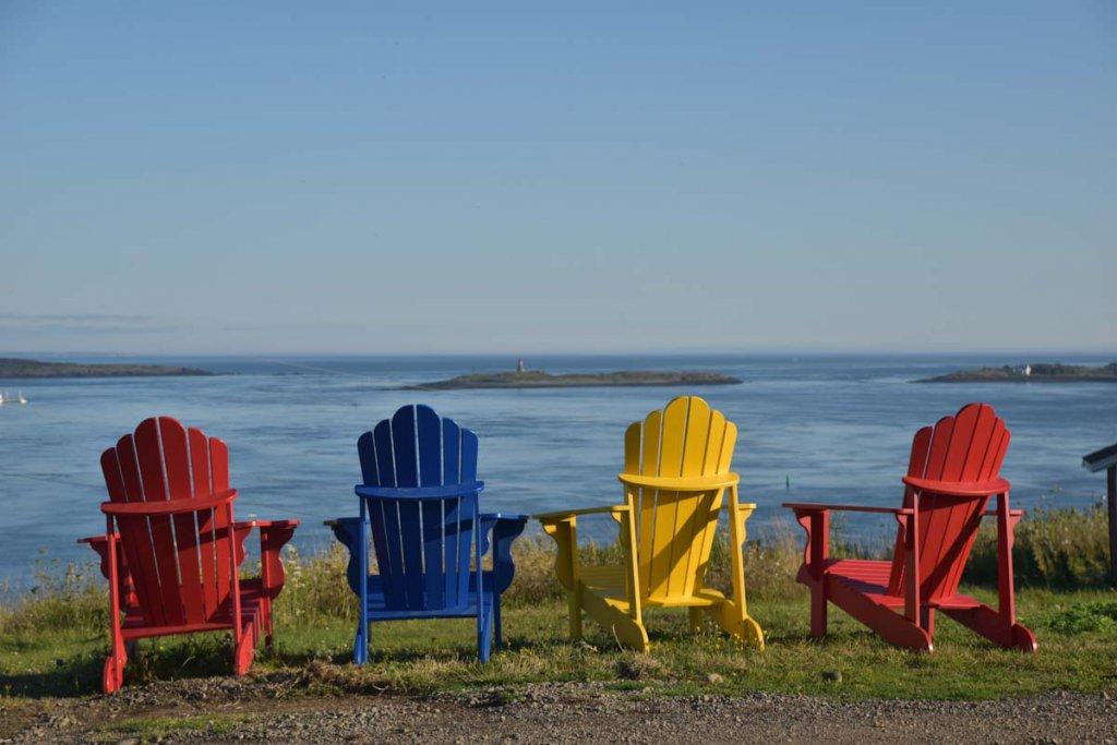 Geschenktipp für Kanada Reisende: Adirondack Chairs
