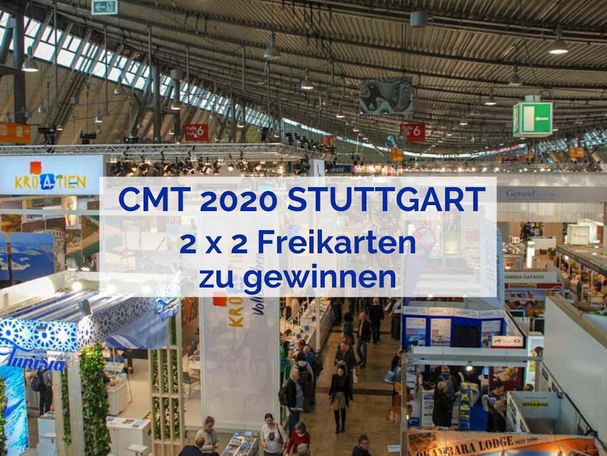 Freikarten für die CMT 2020 in Stuttgart zu gewinnen