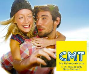 Urlaubsmesse CMT 2020 Stuttgart Banner
