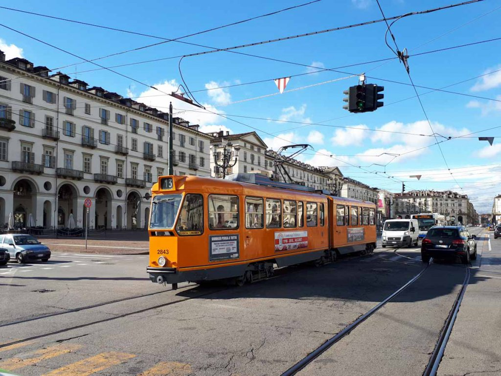 Der größte Platz der Turiner Altstadt: Die Piazza Vittorio Veneto