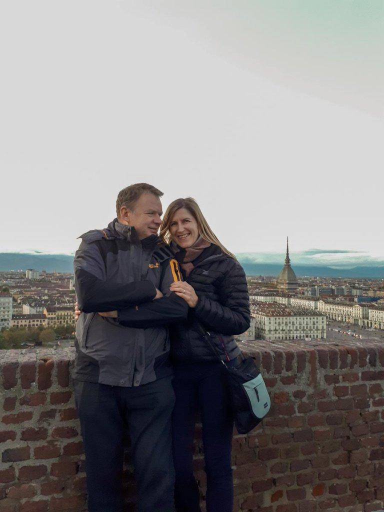 Einer der schönsten Aussichtspunkte Turins: Der Monte Dei Cappuccini
