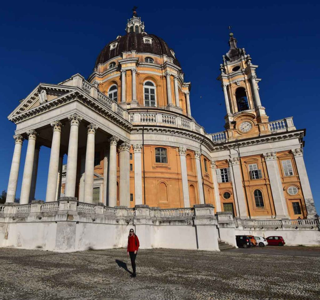 Turins Wallfahrtskirche Basilica Superga