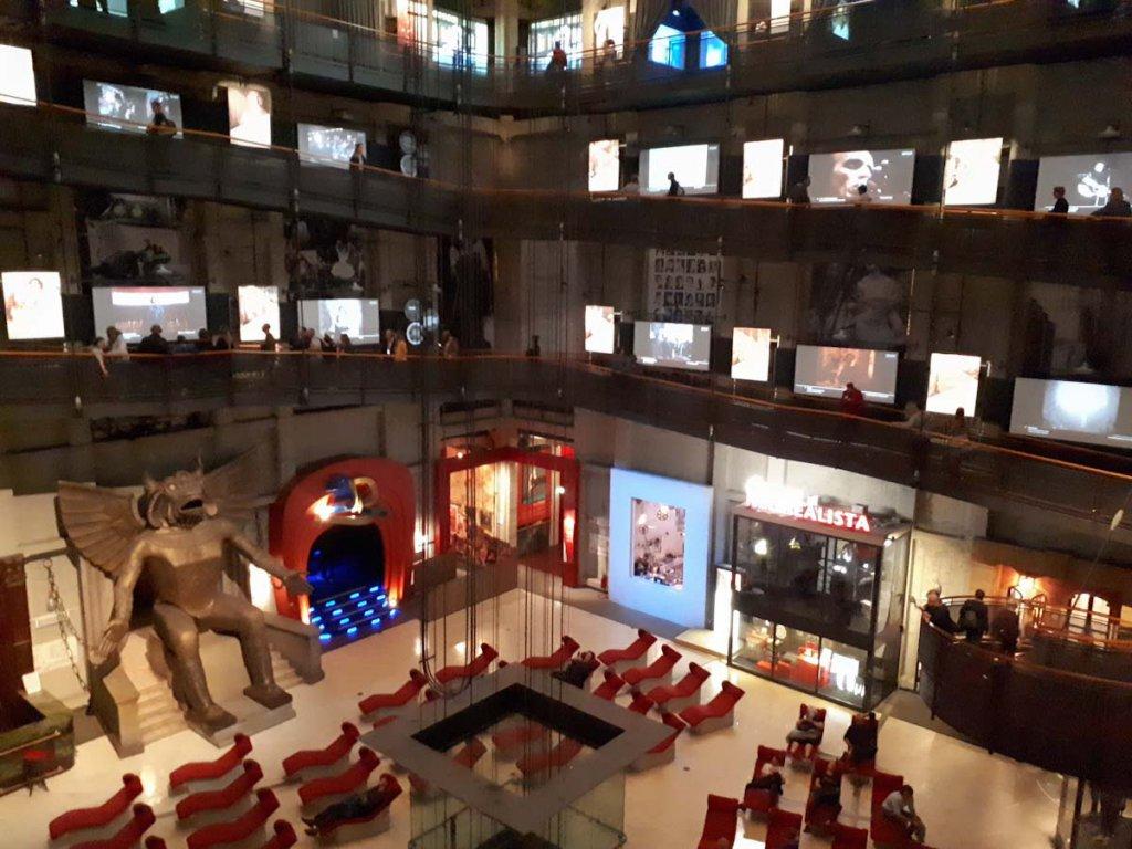 Das Kinomuseum ist eines der einzigartigen Museen Turins