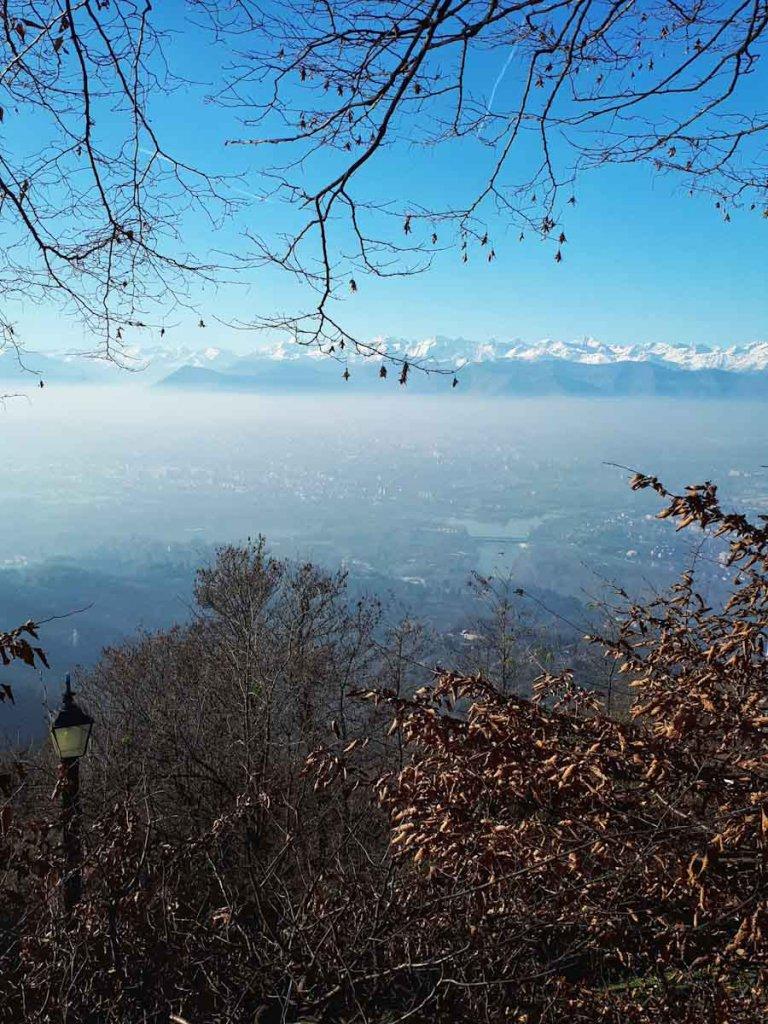Turins grandioses Alpenpanorama
