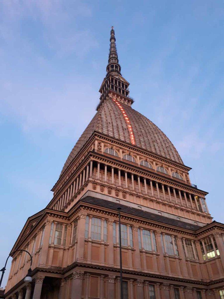 Die berühmteste Sehenswürdigkeit Turins: Die Mole Antonelliana