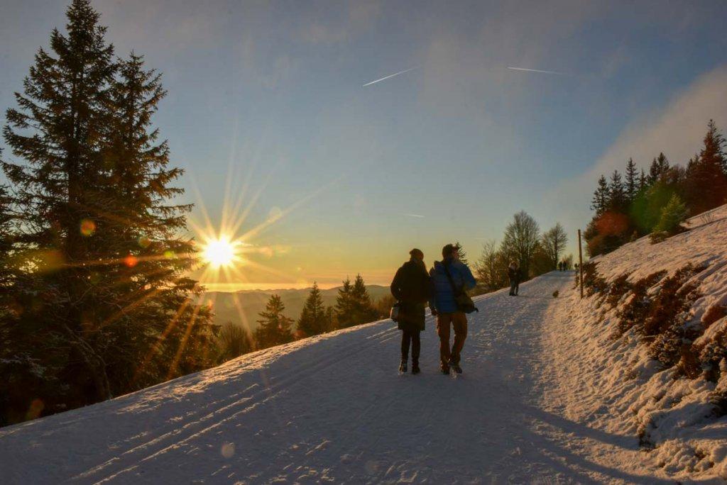 Deutschland Reisen in den Süden: Der Feldberg im Schwarzwald