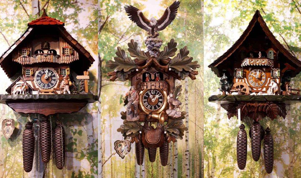 Besonders beliebt bei Touristen: Die traditionellen Kuckucksuhren aus dem Schwarzwald
