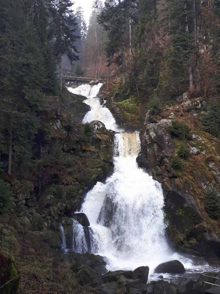 Die höchsten Wasserfälle Deutschlands in Triberg im Schwarzwald