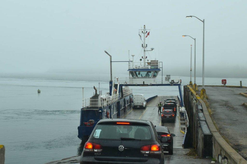 Mit der Fähre von Digby nach Brier Island zum Whale Watching