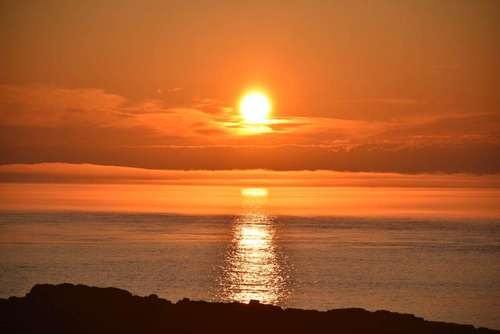 Magische Sonnenuntergänge auf Brier Island in der Bay of Fundy