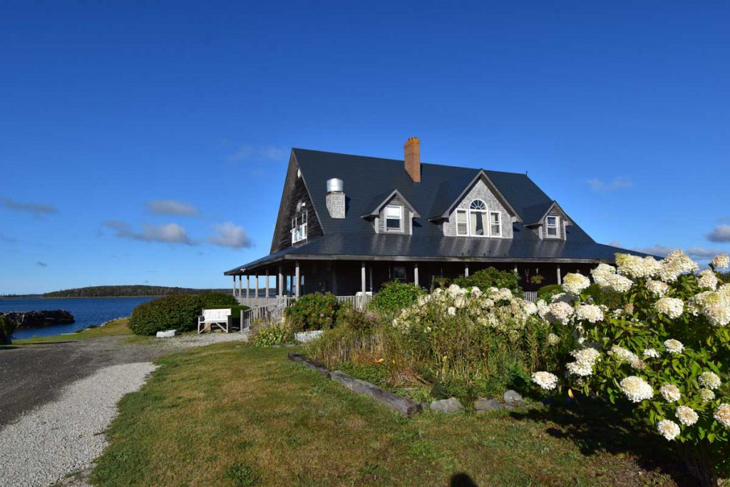 Luxus-Lodge mit Meerblick: Ye Olde Argyler Lodge in Nova Scotia