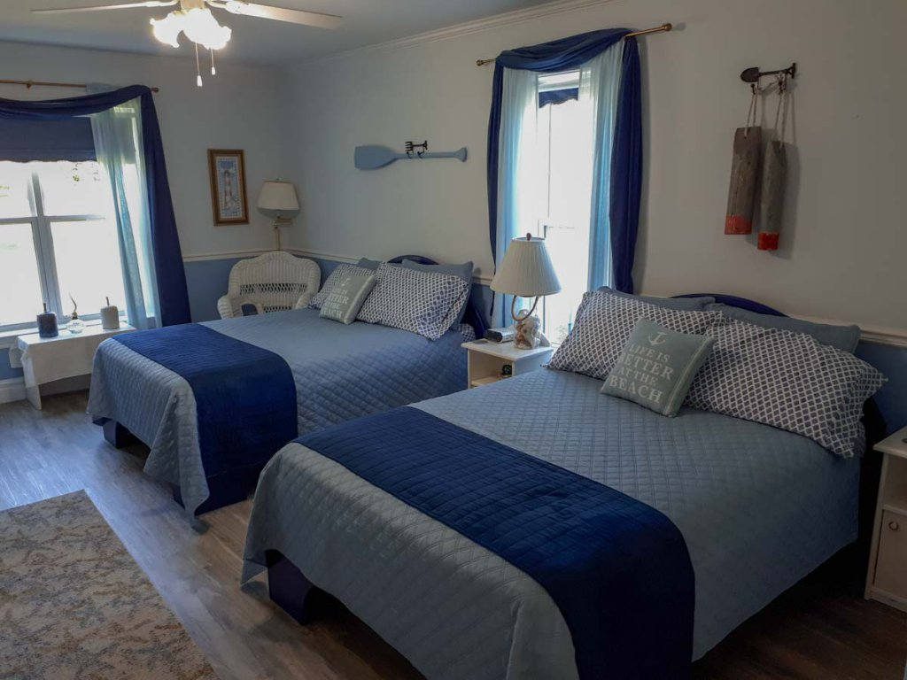 Ostkanada Rundreise mit Kindern: Familienzimmer im Parrsboro Mansion Inn