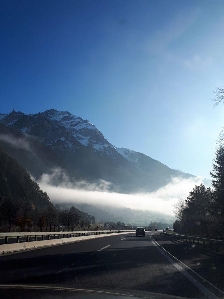 Anreise nach Turin über den Gotthardpass
