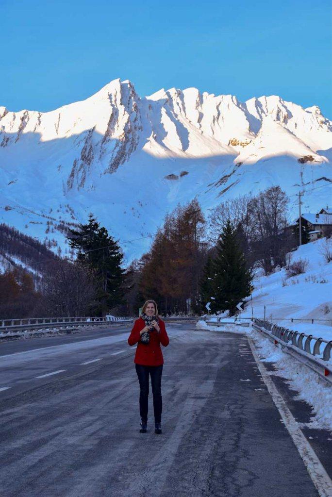 Die majestätischen Viertausender des Aostatals im ersten Sonnenlicht