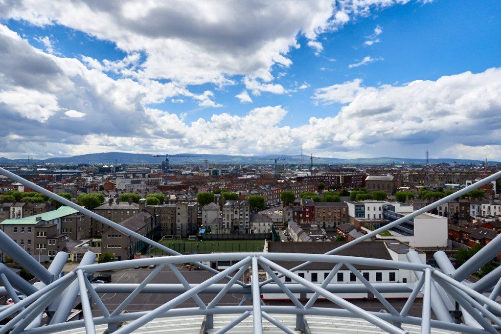 Irland Dublin Sehenswürdigkeiten: Blick vom Croke Park Stadion