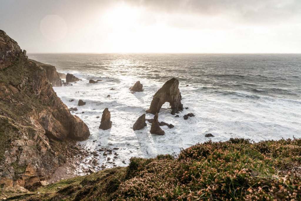 Irland Fotospot: Der Crohy Head Sea Arch in Donegal