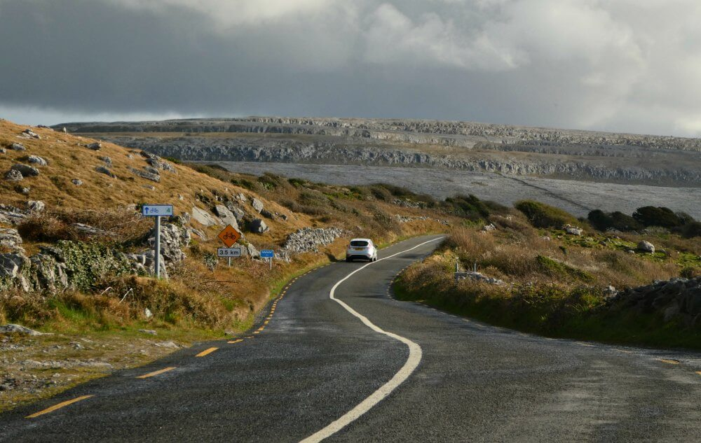 Irland Roadtrip auf dem Wild Atlantic Way in der Burren-Region