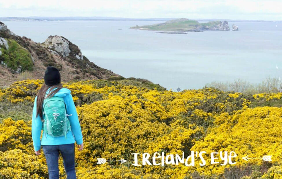 Irland Highlights: Die Insel Irelands Eye vor Howth