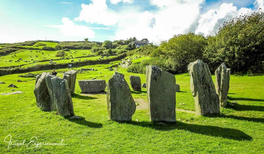 Irland Südwesten: Der Steinkreis Drombeg in Cork