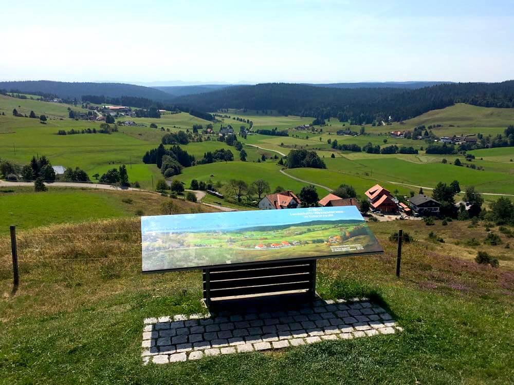 Südschwarzwald: Wandern auf dem Ibacher Panoramaweg