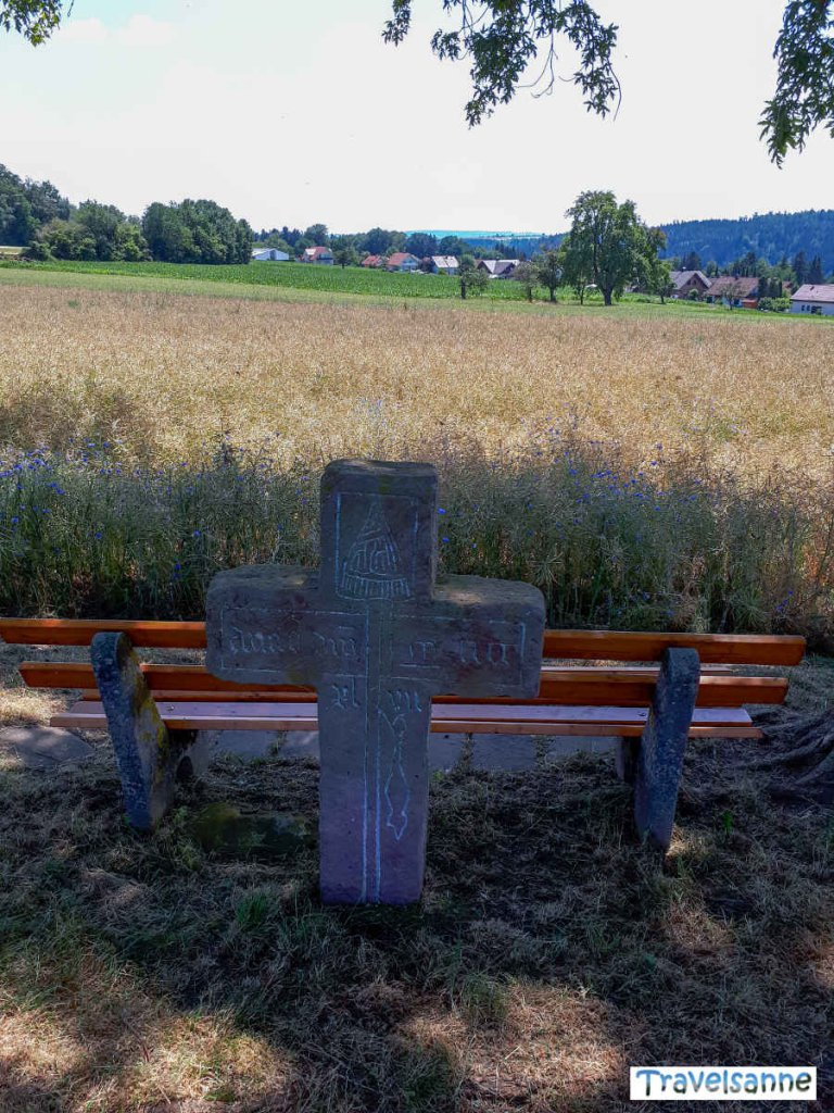 Steinkreuz Bad Teinach-Zavelstein: Spinnerin Kreuz
