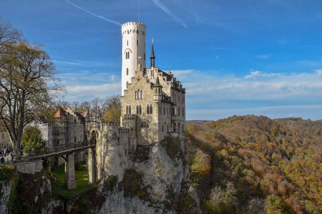 Die beliebteste Sehenswürdigkeit der Schwäbischen Alb: Schloss Lichtenstein