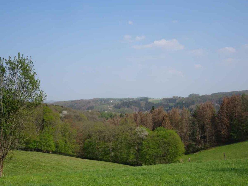 Wandern im Bergischen Land in Nordrhein-Westfalen