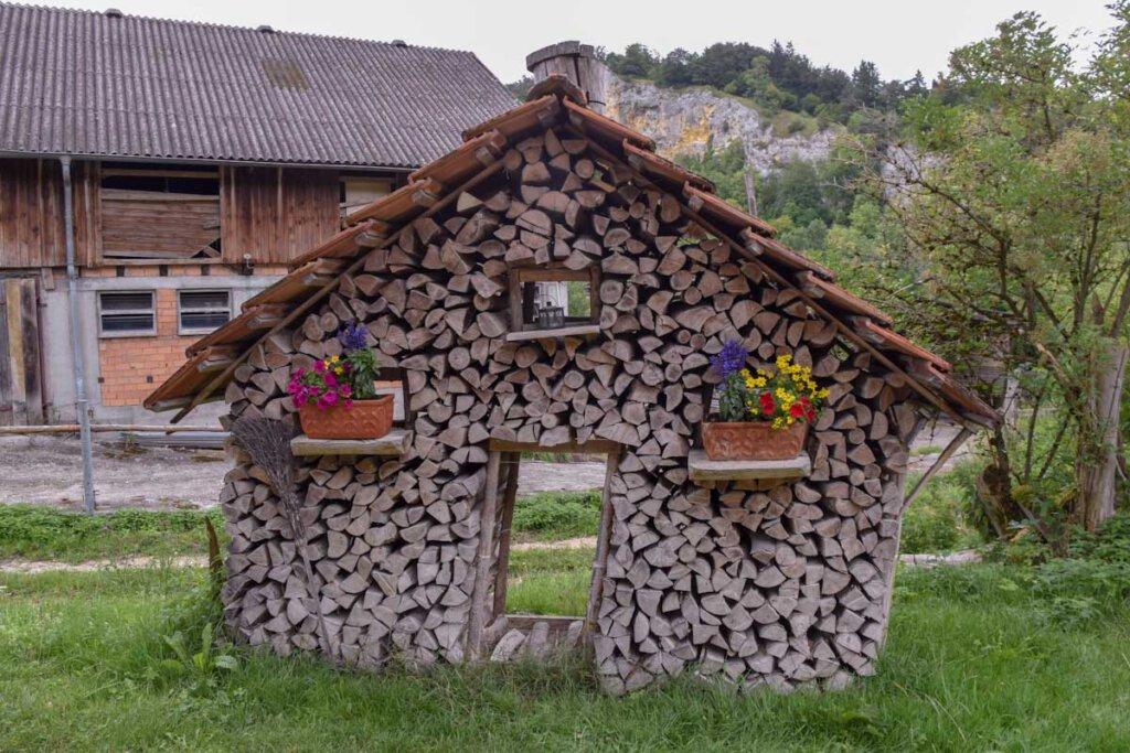 Vesperstube Ziegelhütte im Donautal bei Fridingen