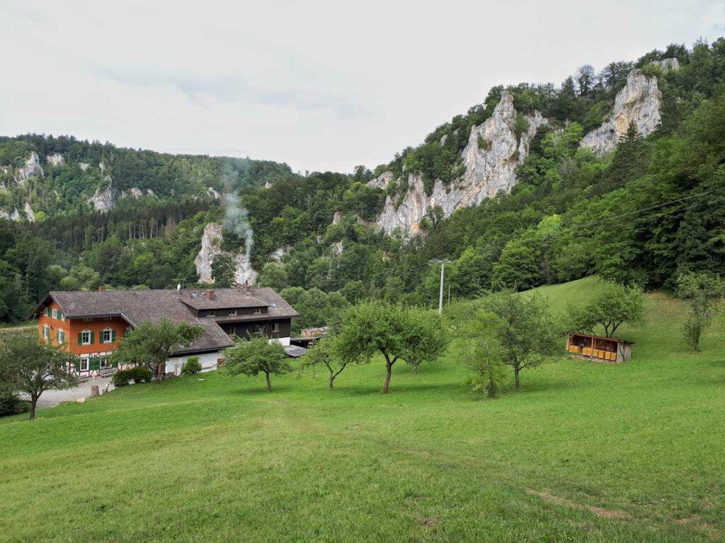 Wandern mit Einkehr auf der Donautal Wanderung