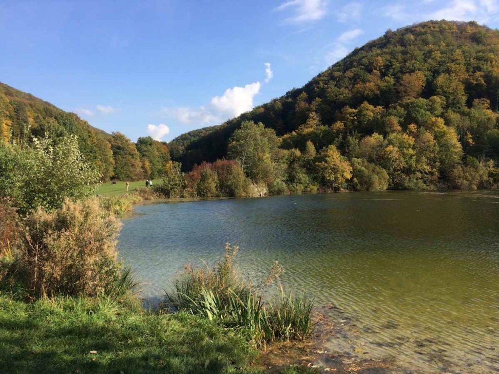 Badeseen am Fuß der Schwäbischen Alb: Die Gönninger Seen