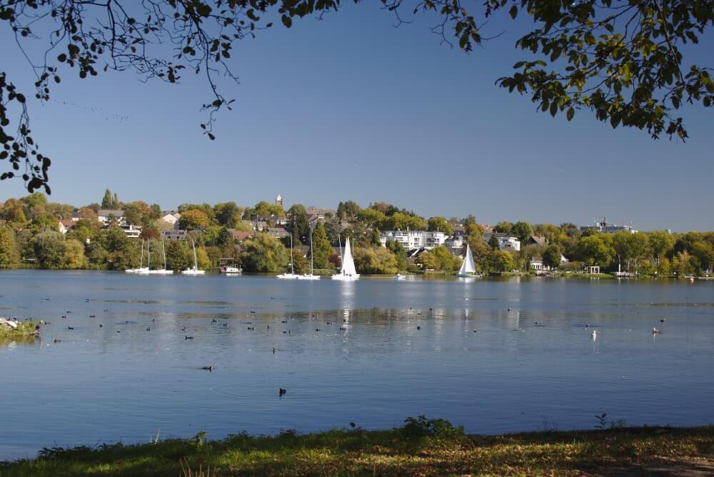 Urlaub im Naherholungsgebiet Baldeney See in Essen