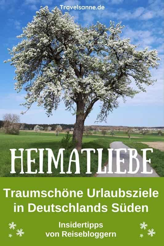 PIN Heimatliebe Deutschland Süden