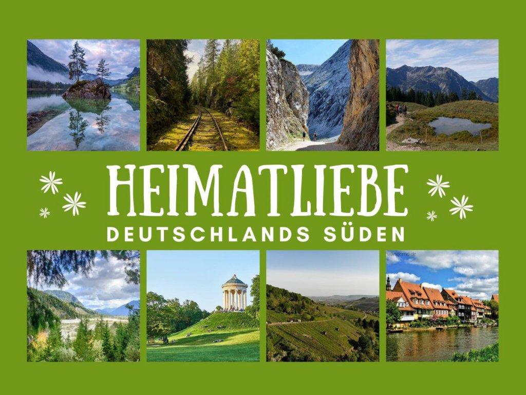 Schönste Urlaubsziele in Deutschlands Süden