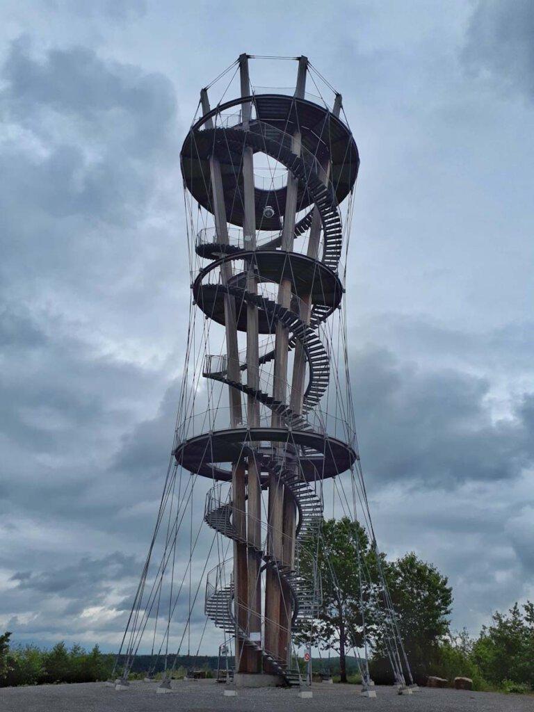 Spektakuläre Konstruktion: Der Schönbuchturm bei Herrenberg