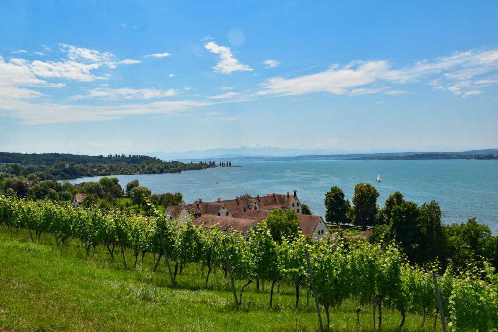Der Bodensee ist der größte der Seen in Baden-Württemberg