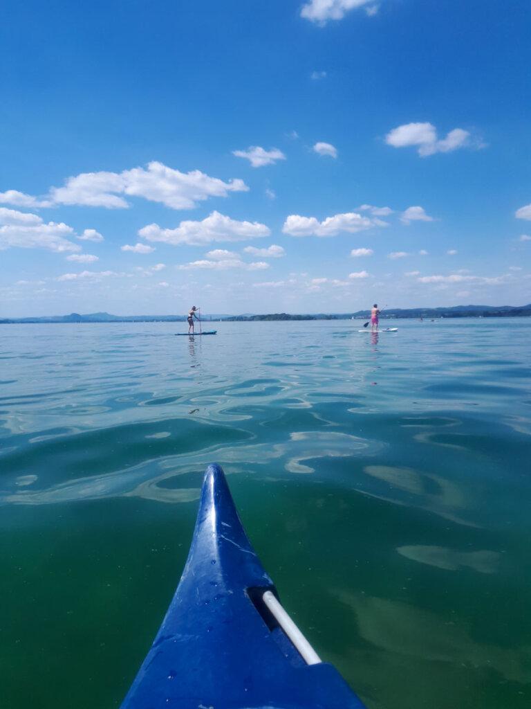 Unser liebster See in Baden-Württemberg zum Kanufahren: der Bodensee