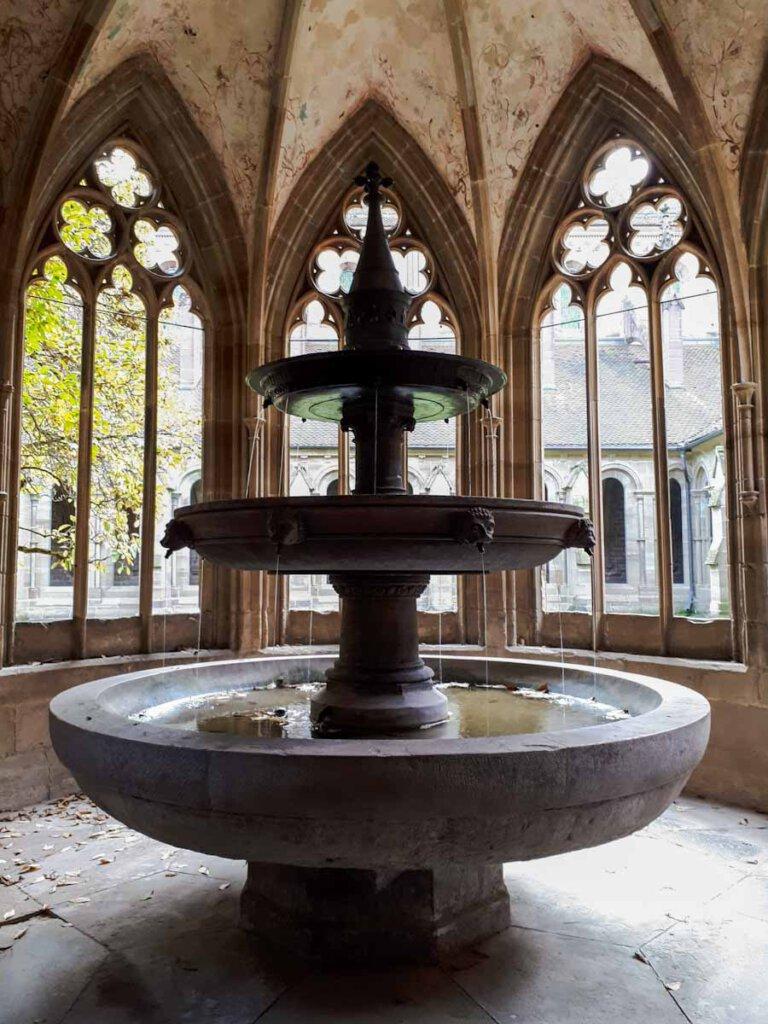 Das Brunnenhaus von Kloster Maulbronn