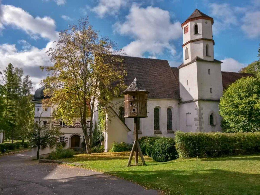 Das idyllische Kloster Urspring nahe Blaubeuren